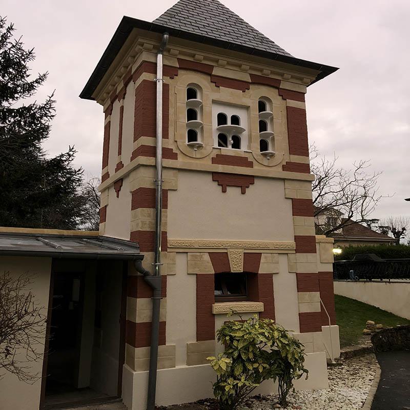 bâtiment restauré