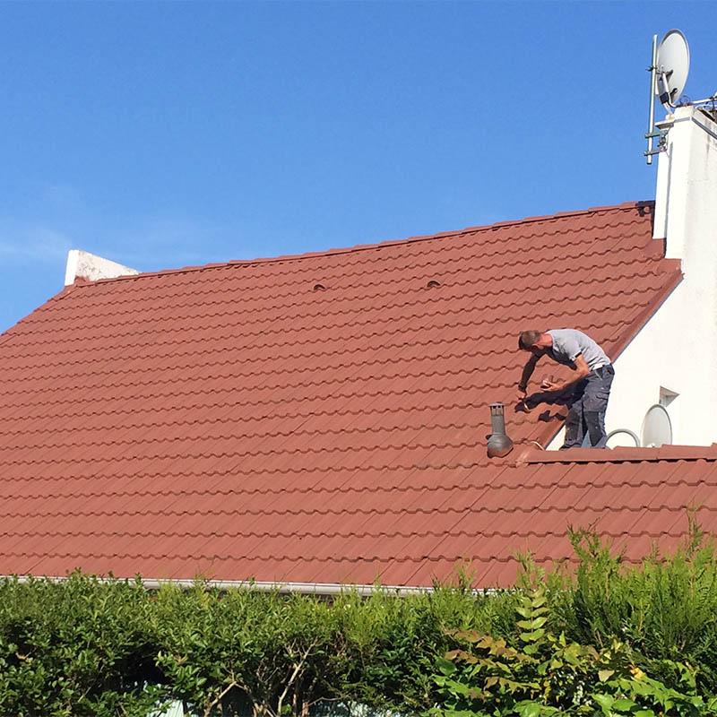 réfection d'une toiture de maison