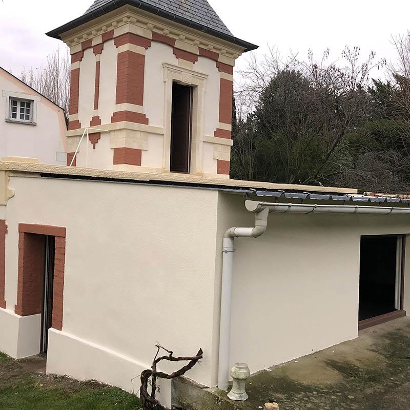 autre vue du bâtiment restauré